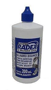 TINTA REABASTECEDORA QUADRO BRANCO 200ML - RADEX