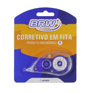 CORRETIVO EM FITA 5MMX6M - BRW