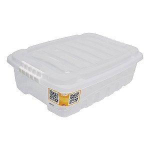 CAIXA ORGANIZADORA 13,7L GRAN BOX INCOLOR - PLASÚTIL