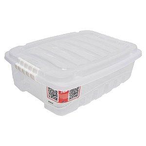CAIXA ORGANIZADORA 26,5L GRAN BOX INCOLOR - PLASÚTIL