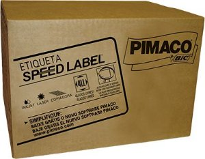 ETIQUETA CARTA SPEED LABEL 61080 1000 FOLHAS - PIMACO