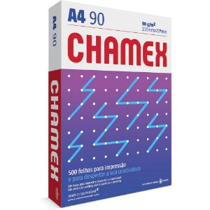 PAPEL CHAMEX A4 90 210MMX297MM BRANCO - 500 FLS