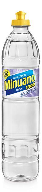 DETERGENTE LÍQUIDO FRESH MINUANO - 500ML