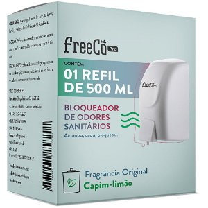 BLOQUEADOR DE ODOR ORIGINAL REFIL 500ML - FREECÔ PRO