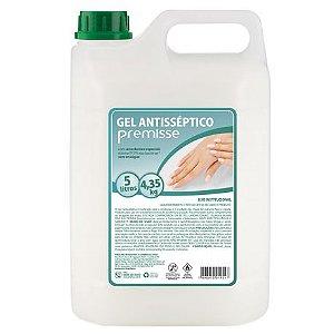 ÁLCOOL GEL ANTISSÉPTICO CLEAN 70 PREMISSE - 5L