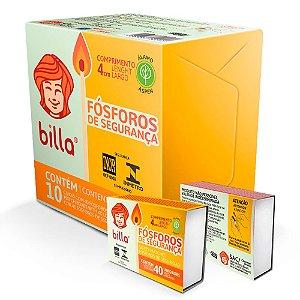 FÓSFOROS DE SEGURANÇA PACK C/10 UNIDADES - BILLA