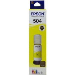 REFIL EPSON ECOTANK T504420-AL AMARELO - 70ML