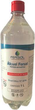 ÁLCOOL LÍQUIDO FERSOL 70º INPM - 1L