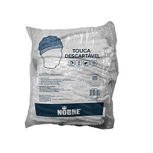 TOUCA DESCARTÁVEL BRANCA C/100 UNIDADES - NOBRE