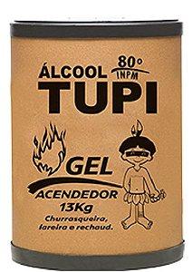ÁLCOOL GEL TUPI ACENDEDOR 80º INPM - 13KG