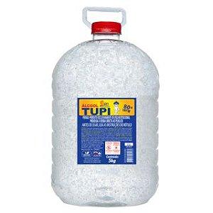 ÁLCOOL GEL TUPI ACENDEDOR 80º INPM - 5KG
