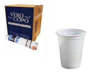 COPO DESCARTÁVEL PS 200ML BRANCO C/2500 UNIDADES - VEROCOPO