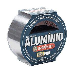 FITA ADESIVA DE ALUMÍNIO 48MMX30M - ADELBRAS