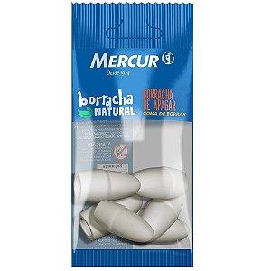 BORRACHA PONTEIRA BRANCA C/6 UNIDADES - MERCUR