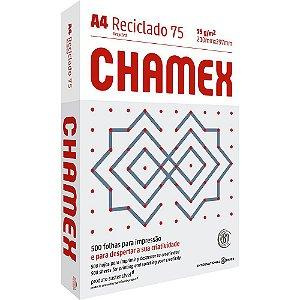 PAPEL CHAMEX A4 75 210MMX297MM RECICLADO - 500 FLS