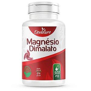 Magnésio Dimalato 260mg 100 cápsulas - Denature