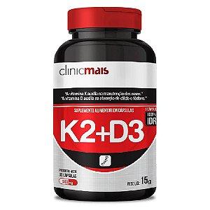 Vitamina k2 + Vitamina D3 30 cápsulas - Clinicmais