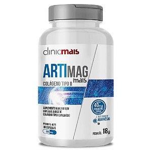 Artimag - Colágeno Tipo 2 + Magnésio - 30 Cápsulas - Clinicmais