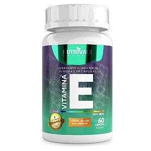 Vitamina E (Tocoferol) 60 cápsulas - Nutrivale