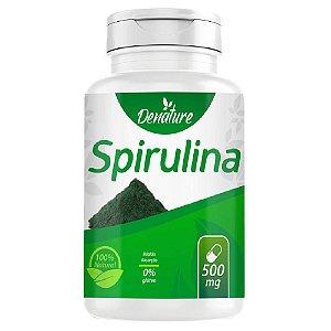 Spirulina 500mg 100 cápsulas - Denature