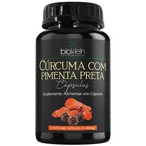 Cúrcuma com Pimenta Preta 615mg 60 cápsulas - Bioklein