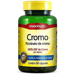 Cromo Quelato 60 Cápsulas - Maxinutri