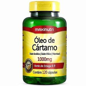 Óleo de Cartamo 120 cápsulas - Maxinutri