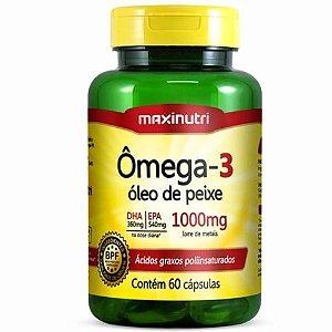 Ômega 3 60caps - Maxinutri