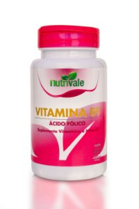 Vitamina B9 60caps - Nutrivale