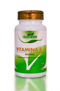 Vitamina B7 60 cápsulas - Nutrivale