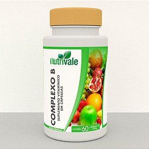 Vitaminas Complexo B 60 cápsulas - Nutrivale