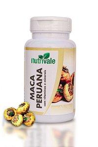 Maca Peruana Com Vitaminas 60caps - Nutrivale