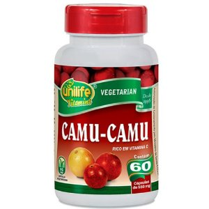 Camu-Camu 60 caps 500mg Unilife