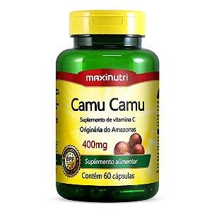 Camu Camu 60caps 400mg - Maxinutri