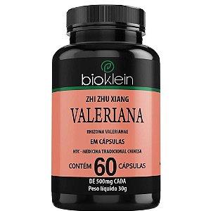 Valeriana 500mg 60 cápsulas - Bioklein