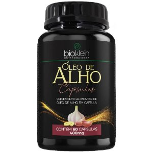 Óleo de Alho 400mg 60 cápsulas - Bioklein