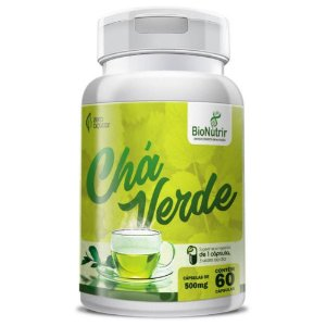 Chá Verde 60 cápsulas - Bionutrir