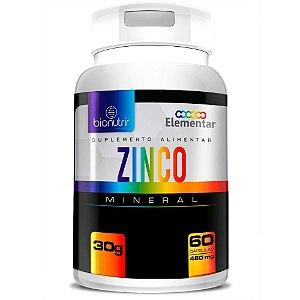 Zinco 60 Cápsulas - Bionutrir