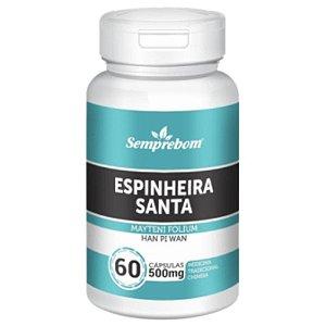 Espinheira Santa 500mg 60 cápsulas - Semprebom