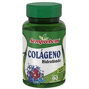 Colágeno Hidrolisado 90 cápsulas - Semprebom