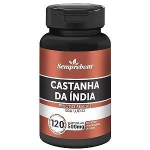 Castanha da Índia 120 cápsulas - Semprebom