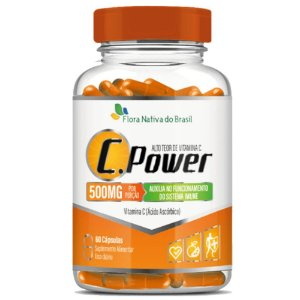 C.Power (Vitamina C) 60 cápsulas - Flora Nativa