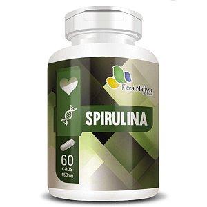 Spirulina 450mg 90 cápsulas - Flora Nativa