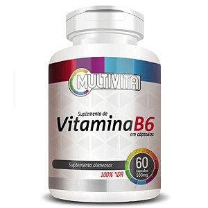 Vitamina B6 60 cápsulas - Multivita