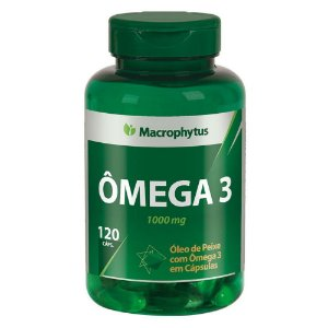 Ômega 3 120 softgels - Macrophytus