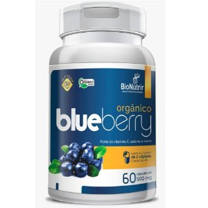 Blueberry 500mg 60 cápsulas - Bionutrir