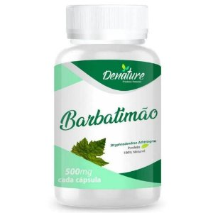Barbatimão 500mg 100 cápsulas - Denature
