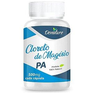 Cloreto de Magnésio PA 500mg 100 cápsulas - Denature