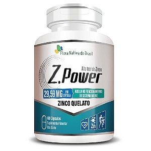 Z-Power (Zinco Quelato) 60 Cápsulas - Flora Nativa