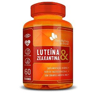 Luteína & Zeaxantina 60 cápsulas - Flora Nativa